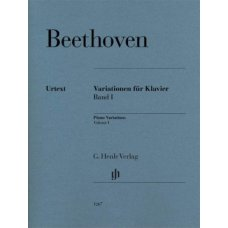 BEETHOVEN PIANO VARIATIONS VOLUME 1