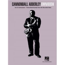 CANNONBALL ADDERLY OMNIBOOK Eb INSTRUMENTS BK