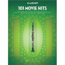 101 MOVIE HITS FOR CLARINET SOLO BK
