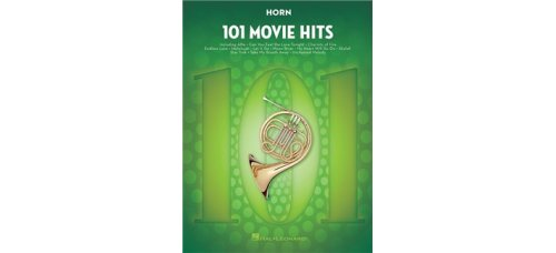 101 MOVIE HITS FOR HORN SOLO BK