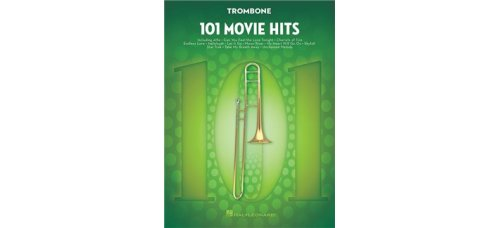 101 MOVIE HITS FOR TROMBONE SOLO BK