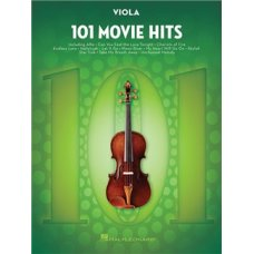 101 MOVIE HITS FOR VIOLA SOLO BK