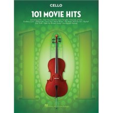 101 MOVIE HITS FOR CELLO SOLO BK