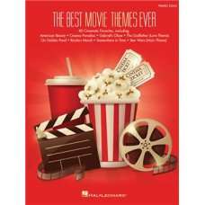 BEST MOVIE THEMES EVER PIANO SOLO BOOK