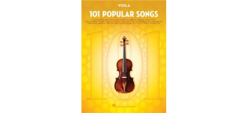 101 POPULAR SONGS FOR VIOLA SOLO BK