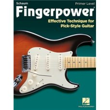 FINGERPOWER EFFECTIVE TECHNIQUE FOR PICK-STYLE GUITAR BK