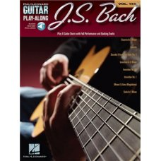 BACH JS FOR GUITAR BK+AUDIO ACCESS