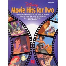DISNEY MOVIE HITS FOR TWO PIANO DUET BK