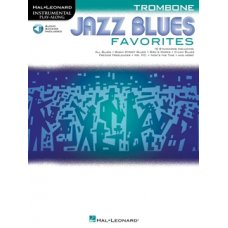 JAZZ BLUES FAVORITES — TROMBONE BK+ONLINE AUDIO