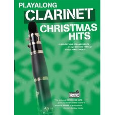 Playalong Clarinet Christmas Hits BK/MP3