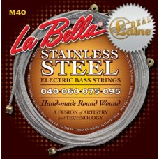 Sähköbasson kielisarja 040-095 La Bella Stainless Steel Extra Light