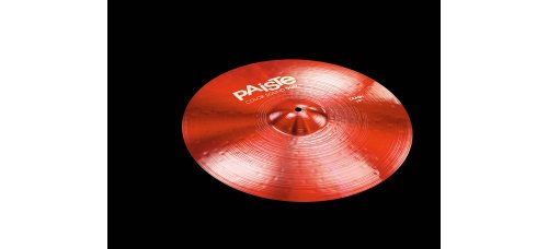 "Symbaali Paiste Color Sound 900 Series 19"" Crash punainen"