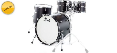 """Rumpusetti Pearl Reference Pure 22"""" Matte Black Shell Pack"""