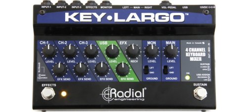 Radial Key Largo - keyboardmikseri