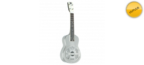 Ukulele Recording King Metal Body Resonator