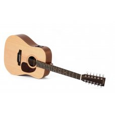 Sigma DM12E+ 12-string electric acoustic