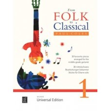 FROM FOLK TO CLASSICAL 1 FOR GUITAR (COLES,PAUL)