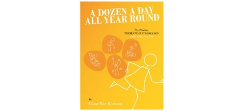 A DOZEN A DAY ALL YEAR ROUND PIANO BK