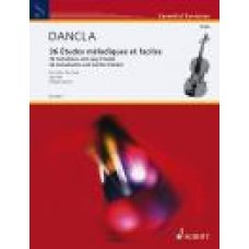 Dancla: 36 Melodious and Easy Studies for viola