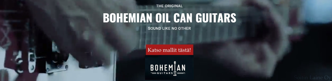 Bohemian Oil Can Kitarat