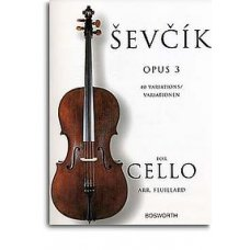 Sevcik: 40 Variations, op. 3 for Cello