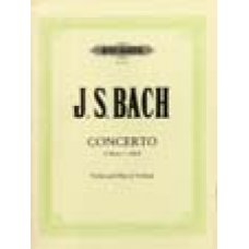 Bach, J.S.: Concerto in c for Violin and Oboe (2 violins)