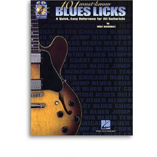 101 Must-Know Blues Licks for Guitar