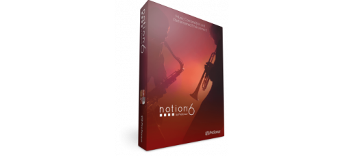 Nuotinnusohjelma Presonus Notion 6 (Studio One integraatio)