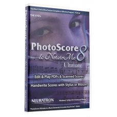 Neuratron PhotoScore & NotateMe Ultimate (AVID Sibelius Ultimate lisäosa)
