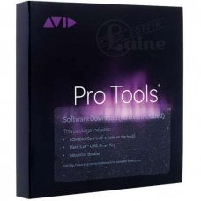 AVID Pro Tools 2018 + 12 months upgrades / support plan + Activation card