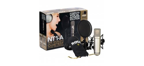 Mikrofoni Rode NT1-A Complete Vocal Recording Solution