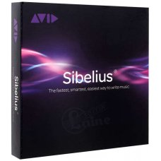 Nuotinnusohjelma AVID Sibelius 1-year upgrade and support plan renewal (Sibelius 2018)