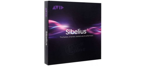 Nuotinnusohjelma AVID Sibelius for Education with Upgrade Plan (Sibelius 2018)